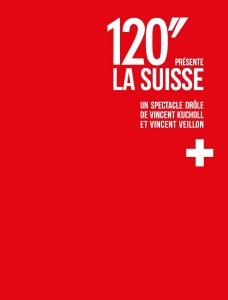 """Le DVD du spectacle """"120 secondes présente la Suisse"""""""